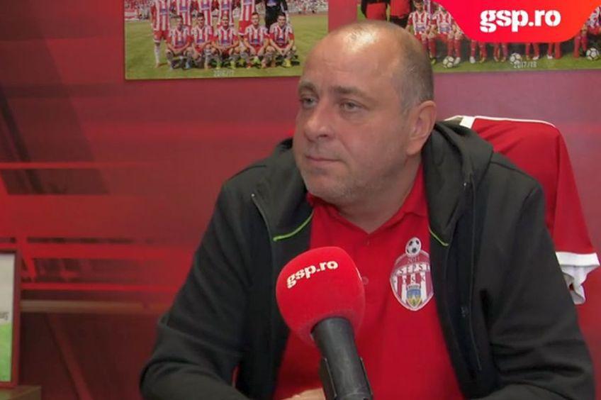 Laszlo Dioszegi, patronul lui Sepsi, s-a arătat mulțumit după remiza echipei sale cu FCSB, 1-1