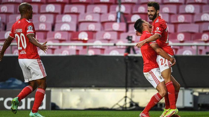 Benfica a câștigat cu 2-1 turul cu PSV // sursă foto: uefa.com