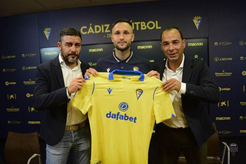 Florin Andone a semnat cu Cadiz