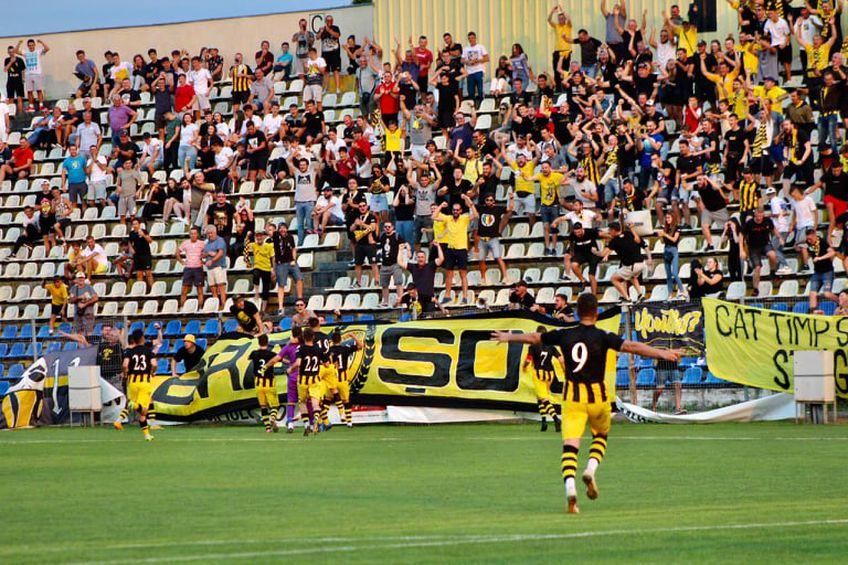SR Brașov, echipa lui Tiberiu Ghioane, a produs surpriza în Cupă: gol marcat de portar, din lovitură liberă!