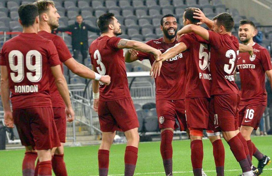 CFR Cluj a învins-o pe Djurgarden, scor 1-0 // foto: Facebook @ Fotbal Club CFR 1907 CLUJ-NAPOCA