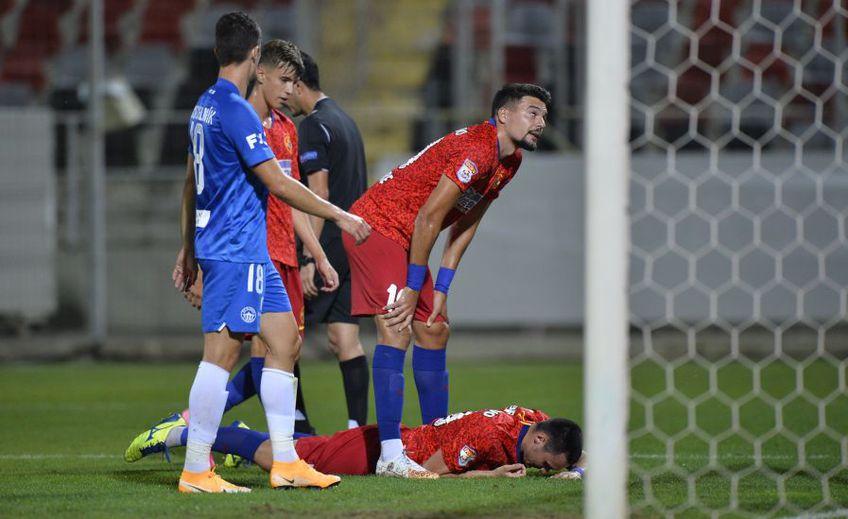 Slovan Liberec a eliminat-o pe FCSB din Europa League, după ce a învins-o cu 2-0 la Giurgiu.