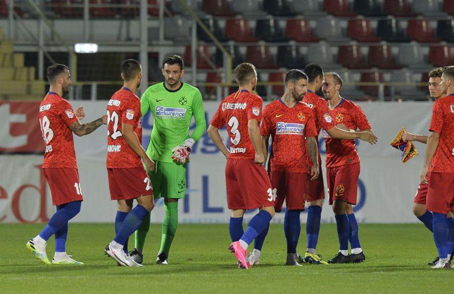 David Caiado (33 de ani, mijlocaș lateral) și Goran Karanovic (32 de ani, atacant central) nu vor rămâne la FCSB după eliminarea roș-albaștrilor din Europa League. Roș-albaștrii au pierdut în turul 3 preliminar, scor 0-2 cu Liberec.
