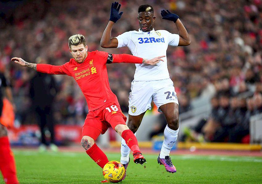 Hadi Sacko, într-un duel Leeds - Liverpool