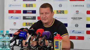 """Chirilă, show la conferința de presă, înaintea debutului cu FCSB: """"Le voi zice jucătorilor că suntem AC Milan"""""""