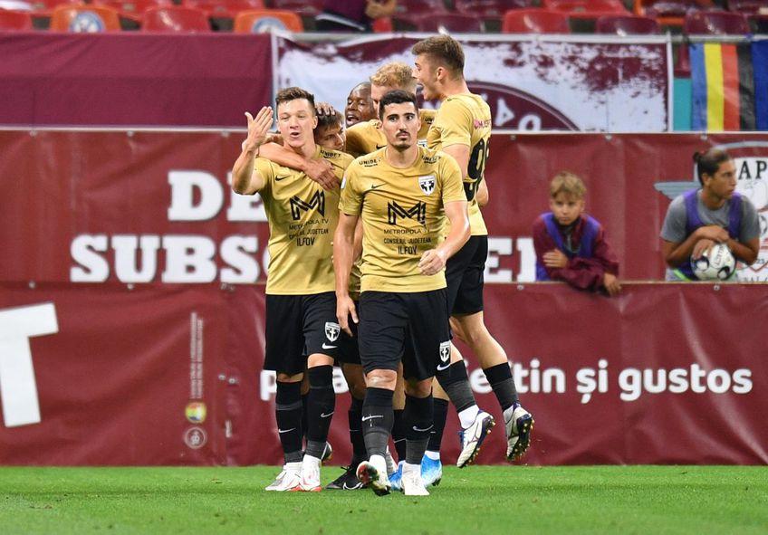 FC Voluntari a învins-o pe Rapid, scor 1-0, în primul meci al rundei #10 din Liga 1.