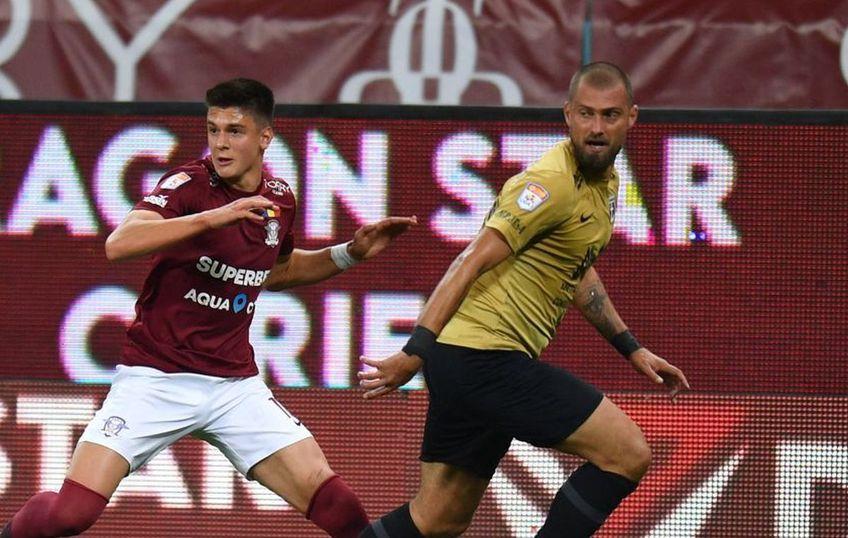 Rapid - FC Voluntari 0-1 | Gabi Tamaș, fundașul ilfovenilor, nu e surprins de locul 3 pe care îl ocupă acum formația sa.