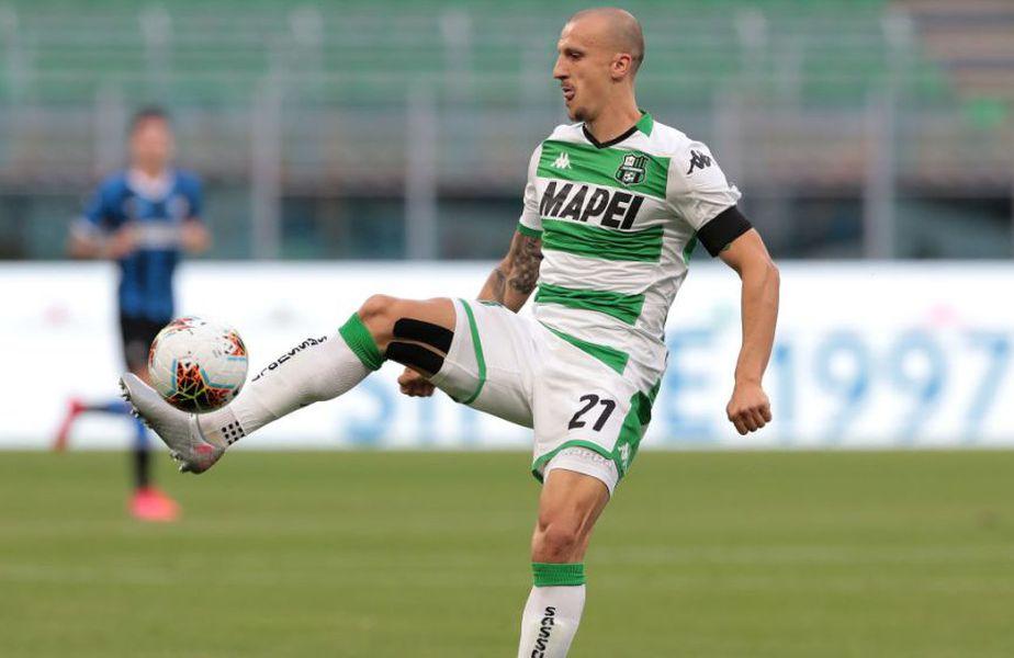 Vlad Chiricheș (30 de ani, fundaș central) a reușit o execuție superbă în partida Sassuolo - Torino 3-3, în etapa #5 din Serie A.