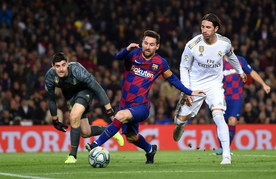 Barcelona și Real Madrid se înfruntă astăzi, în primul El Clasico din actuala stagiune.