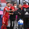 Bayern Munchen a suferit o pierdere importantă chiar în startul meciului din Bundesliga contra lui Eintracht Frankfurt. foto: Guliver/Getty Images