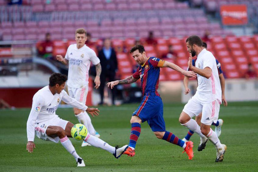 Leo Messi nu a marcat nici de acestă dată împotriva lui Real Madrid (Sursă foto: Getty)