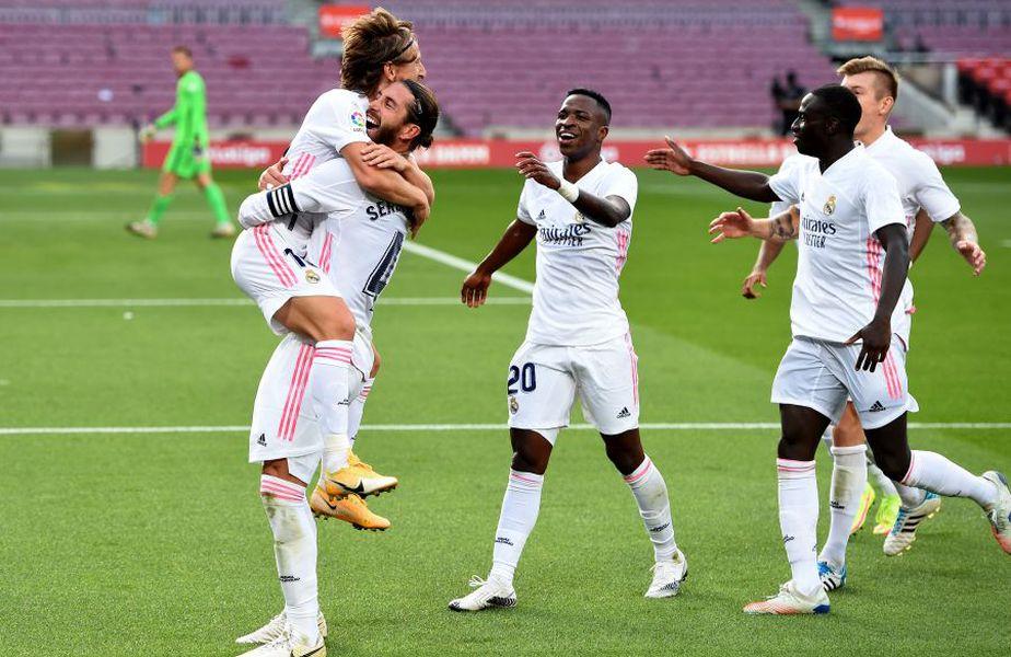 Real Madrid s-a impus pe terenul Barcelonei, scor 3-1