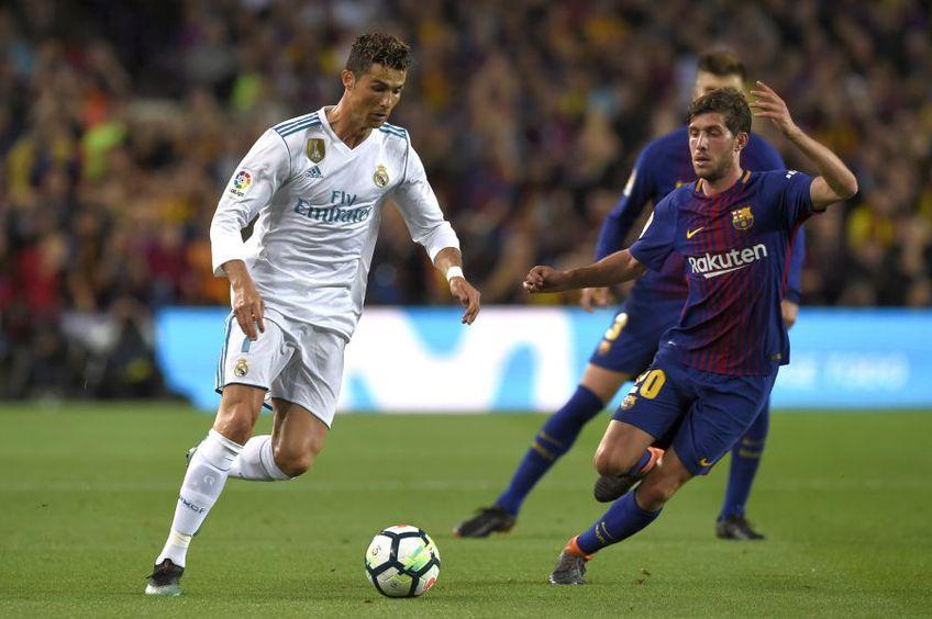 Cristiano Ronaldo, în ultimul meci Barcelona - Real Madrid jucat // foto: Guliver/gettyimages