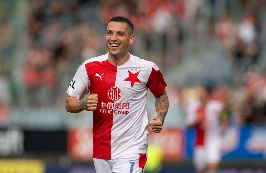 Nicolae Stanciu ar putea ajunge în Turcia / Sursă foto: Twitter Slavia Praga