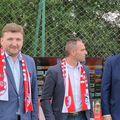 Dorin Șerdean (în stânga) e acuzat din nou de suporteri