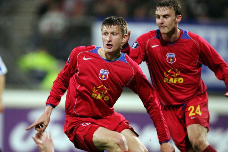 Goian și Ghionea au fost stâlpii defensivei Stelei la mijlocul anilor 2000