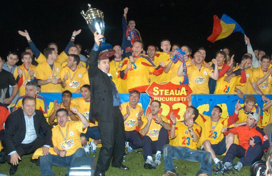 """De când Gigi Becali a preluat-o pe FCSB, în 2003, roș-albaștrii au triumfat în Liga 1 numai când au avut """"blindat"""" centrul apărării @Imago"""
