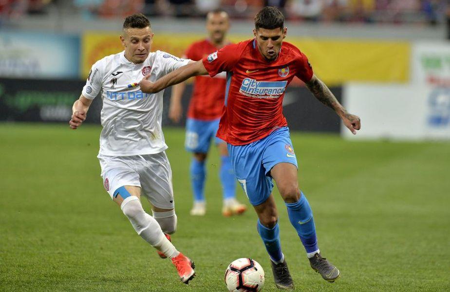Valentin Costache și Florinel Coman, doi dintre cei mai valoroși jucători ai României U21, s-ar putea înfrunta în meci direct cu 3 zile înainte de Euro 2021