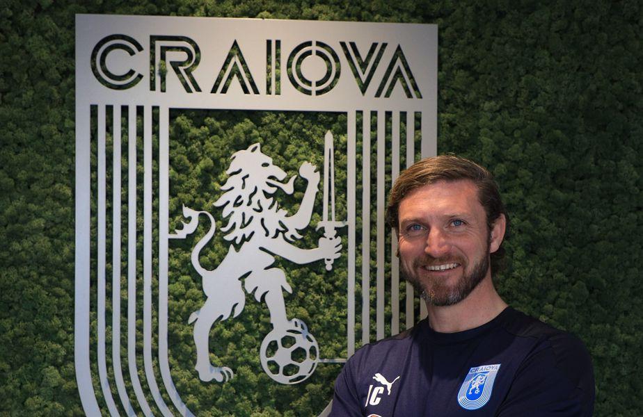 Ian Coll (40 ani) FOTO Facebook Universitatea Craiova