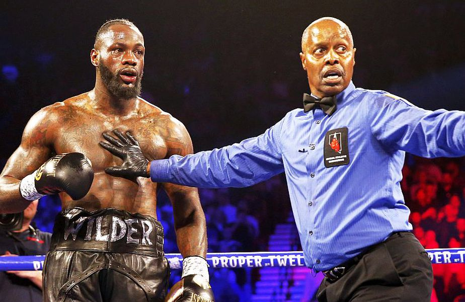 Deontay Wilder în meciul cu Tyson Fury, foto: Reuters