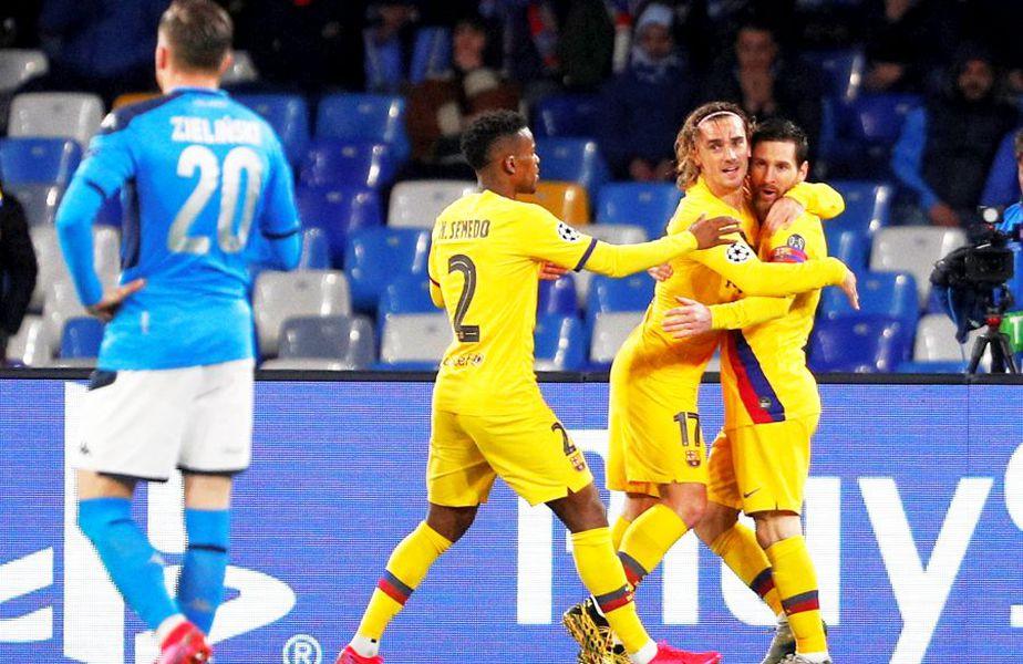 Napoli - Barcelona // foto: Reuters