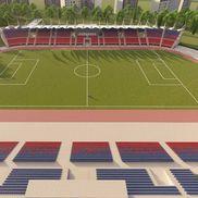 Așa ar trebui să arate stadionul Chindiei la final