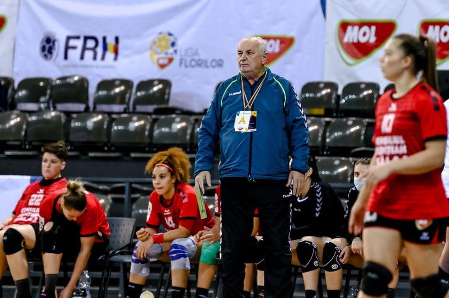 Gheorghe Tadici a fost mereu un antrenor vocal în handbalul românesc FOTO Dan Potor