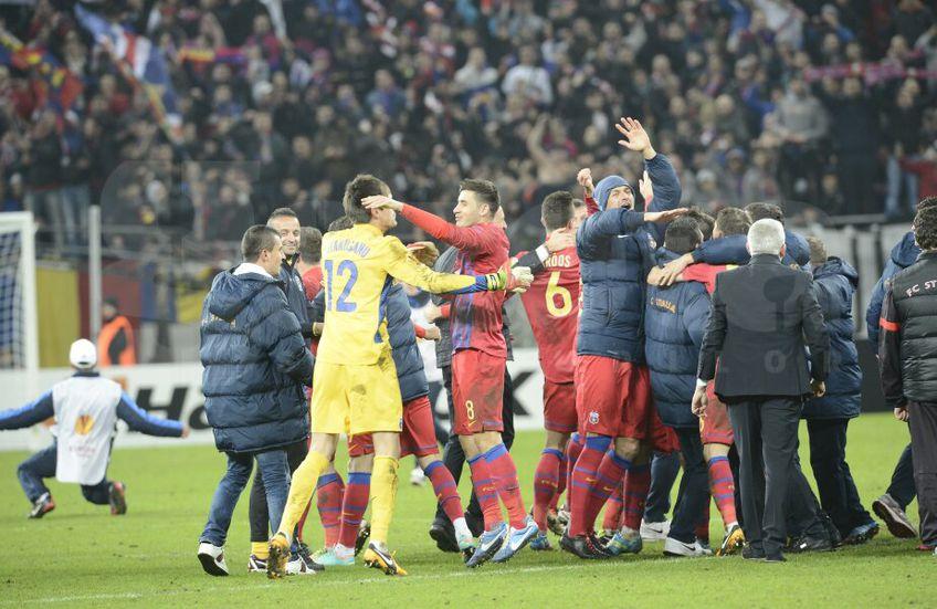 Un clip postat pe contul oficial de Instagram al celor de la UEFA a reaprins disputa dintre CSA Steaua și FCSB.