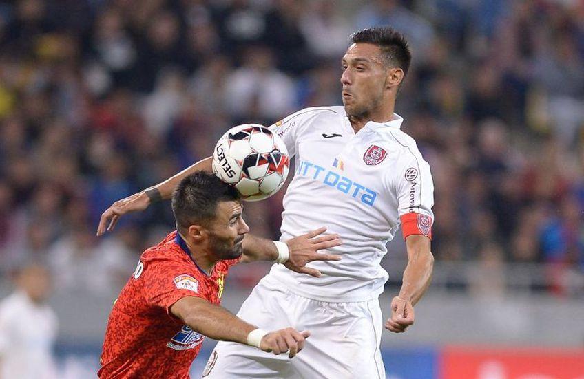 Răzvan Burleanu (36 de ani), președintele FRF, spune că Supercupa României, CFR Cluj - FCSB, se poate disputa în luna aprilie.