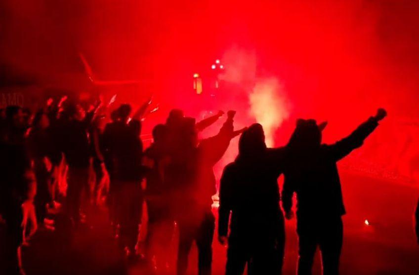 Fanii lui Dinamo au mers la Săftica înainte de meciul cu Viitorul