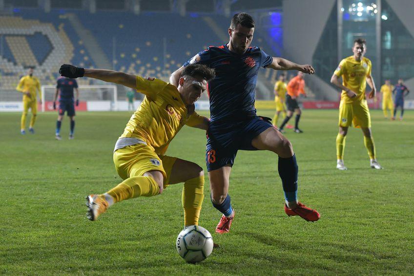 Mihai Constantinescu, cu bandaj în ultimul meci al Petrolului / FOTO: fcpetrolul