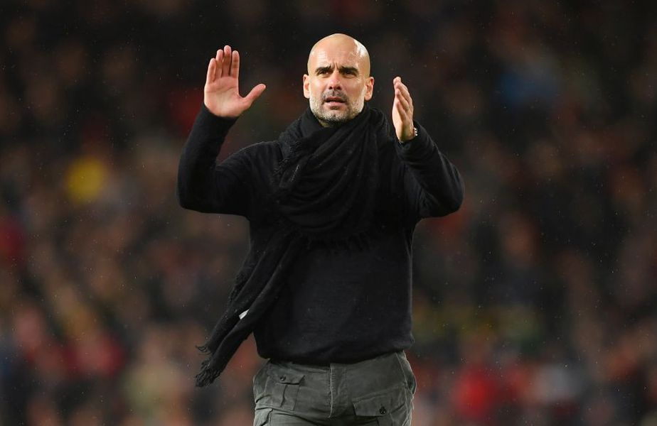 Pep Guardiola, antrenor Manchester City