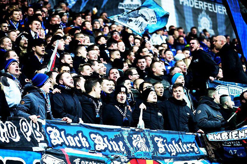 Fanii lui Paderborn Bundesliga // sursa: Getty