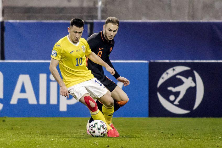 România U21 a debutat cu un egal la Campionatul European de tineret, 1-1 contra Olandei U21
