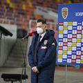 """România a învins Macedonia de Nord, scor 3-2, la debutul în preliminariile Campionatului Mondial. Golurile """"tricolorilor"""" au fost marcate de Florin Tănase, Valentin Mihăilă și Ianis Hagi."""