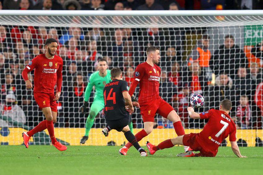 Liverpool a fost eliminată din Liga Campionilor de către Atletico Madrid // sursă foto: Guliver/gettyimages