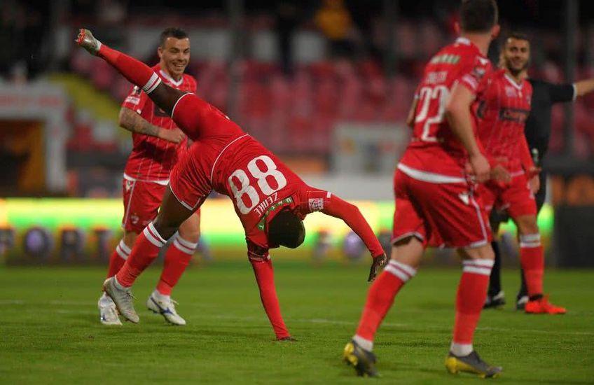 Zenke (nr. 88) a jucat 22 de meciuri în sezonul trecut din Liga 1 și a marcat un gol