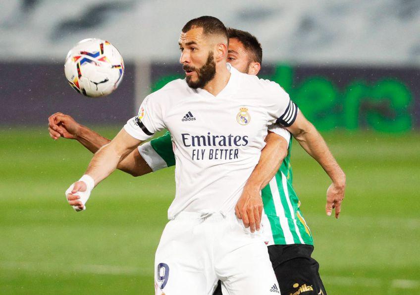 Real Madrid, dependentă de Karim Benzema