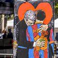 Leo Messi, graffiti, foto: Imago