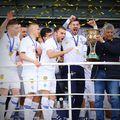 Mircea Lucescu a devenit campion azi cu Dinamo Kiev FOTO Facebook Druzi Dynamo