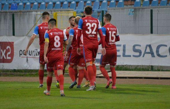 FC Botoșani - Academica Clinceni 2-1 » Trupa lui Marius Croitoru, prima victorie în play-off! Clasamentul actualizat