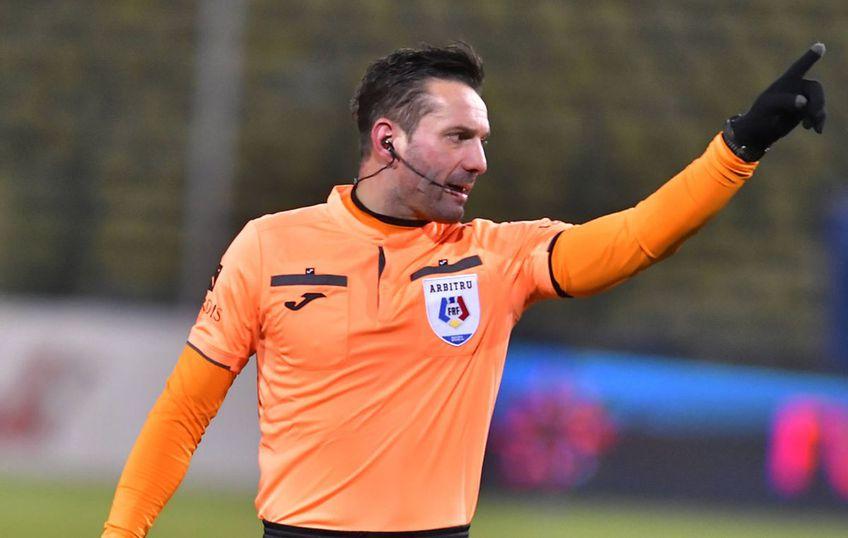 În minutul 74 al meciului FCSB - Sepsi (runda #3 a play-off-ului din Liga 1), la scorul de 1-1, Sebastian Colțescu a dictat penalty pentru gazde, după care a întors decizia imediat!