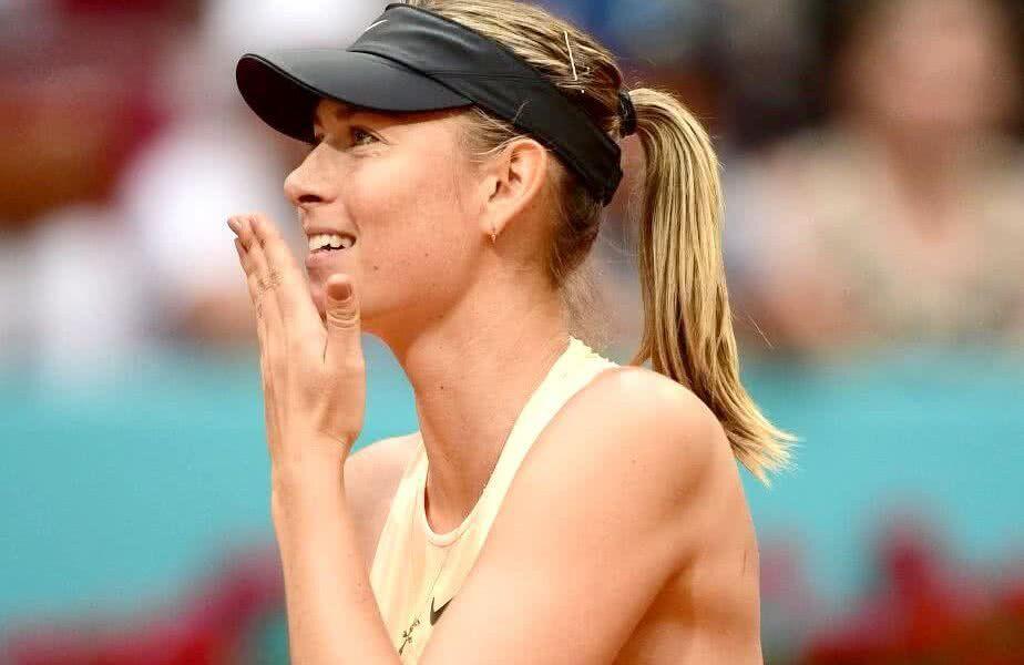 Maria Sharapova a cucerit 5 trofee de Grand Slam în carieră