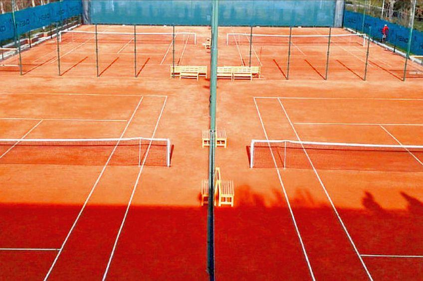Terenurile de tenis au fost goale în această perioadă