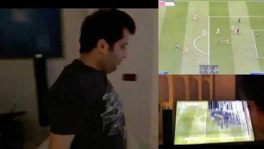 Președintele Almeriei, club de ligă secundă din Spania, și-a spart televizorul după ce s-a jucat FIFA 20.