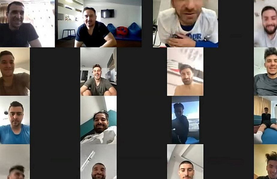 FCSB este una dintre echipele din Liga 1 care a făcut și antrenamente online în timpul pandemiei de coronavirus