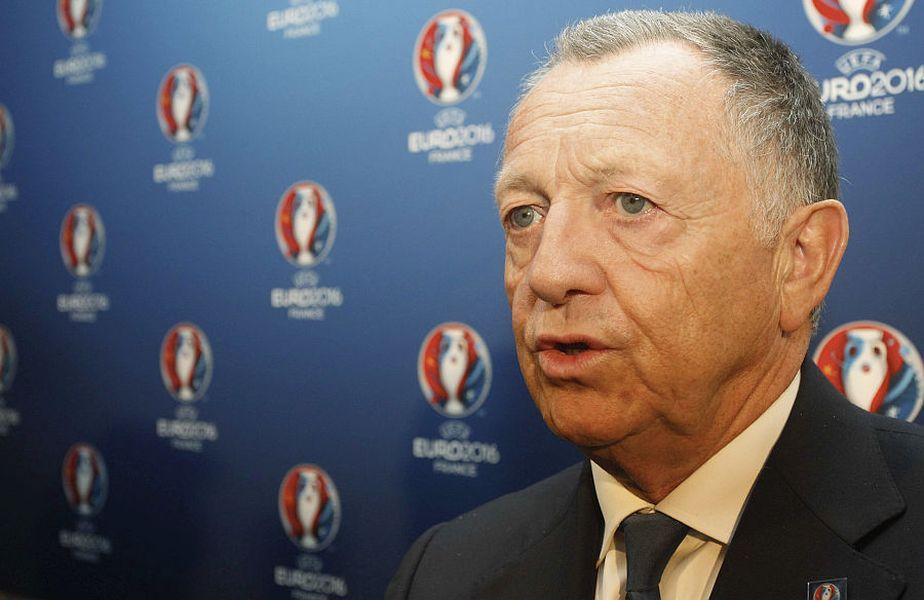 Jean-Michel Aulas și-a pierdut iar controlul după ce spaniolii au anunțat că vor relua campionatul: