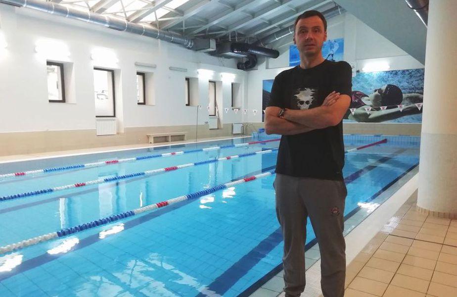 Răzvan Florea și-a deschis clubul de înot în iulie 2013 // FOTO Ionuț Coman