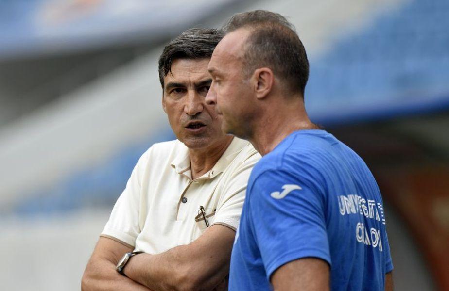 Victor Pițurcă și Corneliu Papură au fost antrenorii Craiovei din acest sezon. Amândoi au părăsit gruparea din Bănie în timpul stagiunii