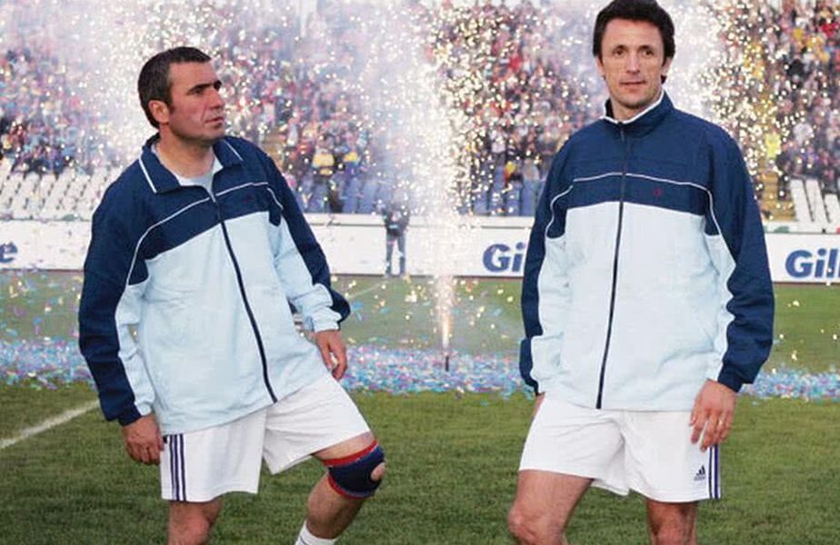 Cozmin Gușă voia să-i pună pe Hagi și Popescu la conducerea fotbalului românesc.